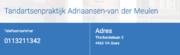 Tandartsenpraktijk Adriaansen- van der Meulen