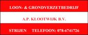 Loon- & Grondverzetbedrijf A.P. Klootwijk BV