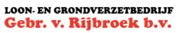 Loon en grondverzetbedrijf Gebr. van Rijbroek